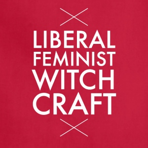 Liberal feminist witch craft - Adjustable Apron