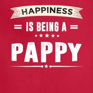 Happiness Is Being a PAPPY - Adjustable Apron