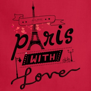 from paris with love - Adjustable Apron