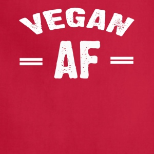 VEGAN AF T-shirt - Adjustable Apron