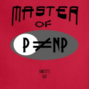 master of p vs np - Adjustable Apron