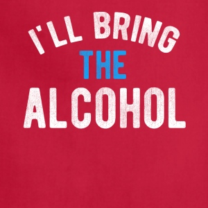 I ll Bring the Alcohol T-shirt - Adjustable Apron