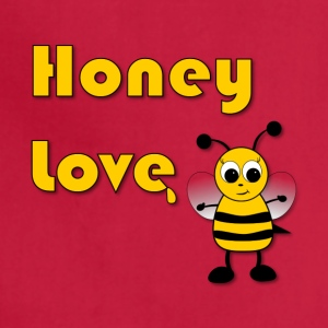 Honey Love with Honey Bee - Adjustable Apron