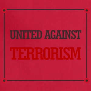 United against terrorism - Adjustable Apron