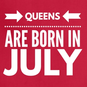 Queens Born July - Adjustable Apron