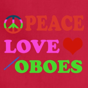 Peace Love Oboes - Adjustable Apron