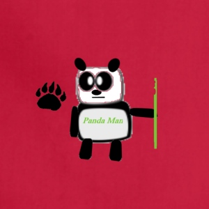 panda man - Adjustable Apron