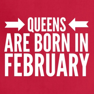 Queens Born February - Adjustable Apron