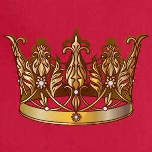 Cool Royal gold crown jewels image - Adjustable Apron