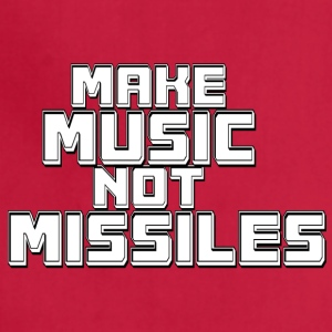 Music_not_missiles - Adjustable Apron