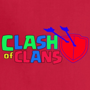 Clash of Clans logo Love - Adjustable Apron