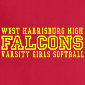 WEST HARRISBURG HIGH FALCONS VARSITY GIRLS SOFTBAL - Adjustable Apron