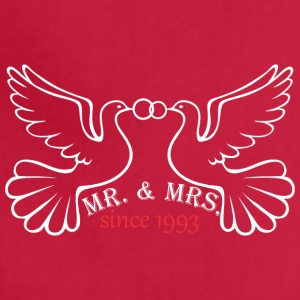 Mr And Mrs Since 1993 Married Marriage Engagement - Adjustable Apron