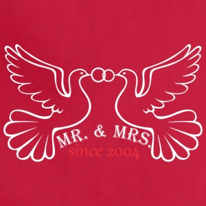 Mr And Mrs Since 2004 Married Marriage Engagement - Adjustable Apron