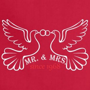 Mr And Mrs Since 1968 Married Marriage Engagement - Adjustable Apron