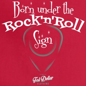 Born Under the Rock'n'Roll Sign - Adjustable Apron