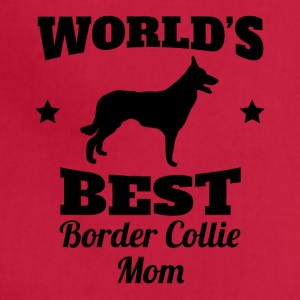 World's Best Border Collie Mom - Adjustable Apron