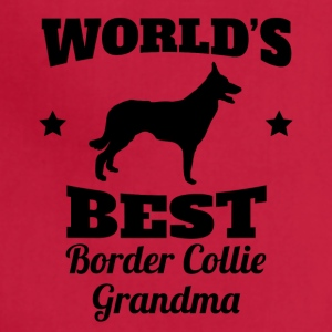 World's Best Border Collie Grandma - Adjustable Apron