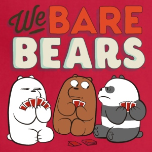 We Bare Bears Game Cards - Adjustable Apron