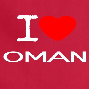 I LOVE OMAN - Adjustable Apron