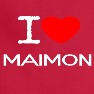 I LOVE MAIMON - Adjustable Apron