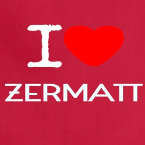 I LOVE ZERMATT - Adjustable Apron