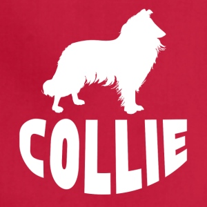 Collie Silhouette - Adjustable Apron