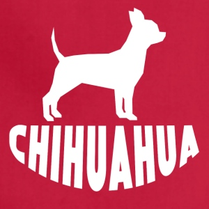 Chihuahua Silhouette - Adjustable Apron