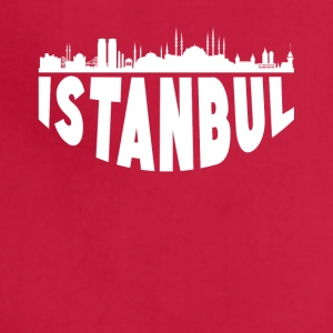 Istanbul Turkey Cityscape Skyline - Adjustable Apron