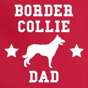 Border Collie Dad - Adjustable Apron