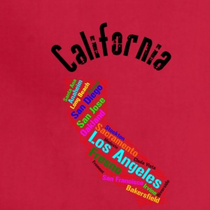 Clifornia State Cities - Adjustable Apron