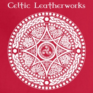 Celtic Leatherworks Beast Targe - Adjustable Apron