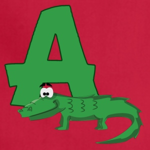 A Is For Alligator - Adjustable Apron