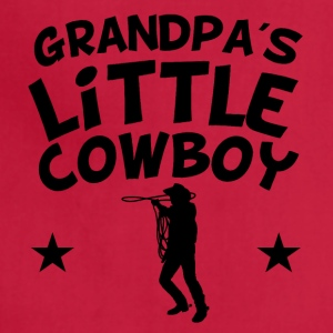 Grandpa's Little Cowboy - Adjustable Apron