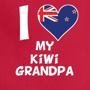 I Heart My Kiwi Grandpa - Adjustable Apron