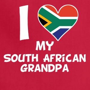 I Heart My South African Grandpa - Adjustable Apron