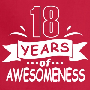 18 years of awesomeness - Adjustable Apron