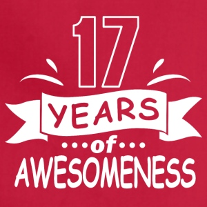 17 years of awesomeness - Adjustable Apron