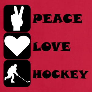 Peace Love Hockey - Adjustable Apron