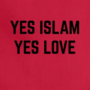 YES ISLAM YES LOVE - Adjustable Apron