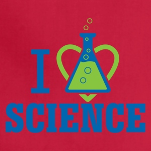 I LOVE SCIENCE - March For Science - Adjustable Apron