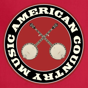 American country banjo music - Adjustable Apron