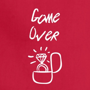 Game over I'm getting married - Adjustable Apron