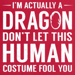 I'm Actually A Dragon Funny Halloween Costume - Adjustable Apron