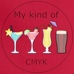 My kind of CMYK - Adjustable Apron
