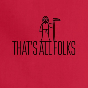That's all folks - Adjustable Apron