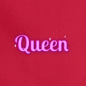 Queen - Pink Magic Sparkles Design - Adjustable Apron