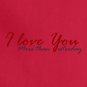 I love You - Adjustable Apron