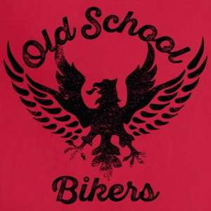 Old School Bikers eagle wings inscription - Adjustable Apron