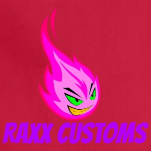 Fire RAXX CUSTOMS logo pink and green - Adjustable Apron